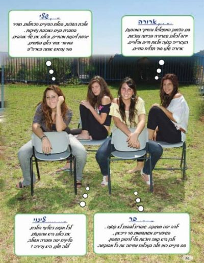 עמוד תלמידים לספר מחזור 77